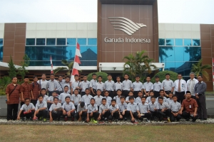 Kunjungan Santri ke GMF AeroAsia & GITC