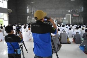 Syuting Pembuatan Profile Pondok oleh ummat.tv